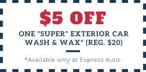 5off Super Car Wash Wax